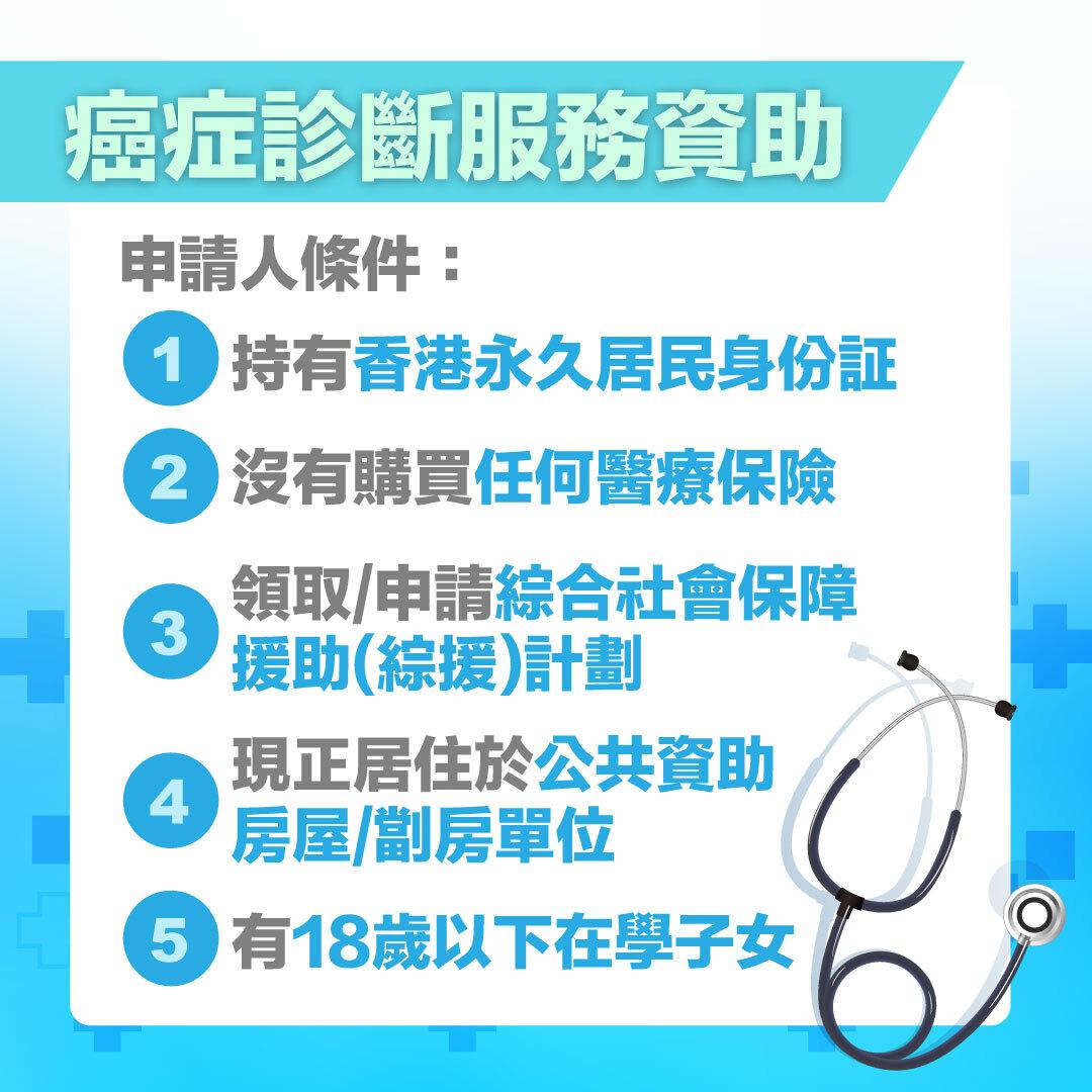 癌症診斷服務資助資格_癌症檢查費用_推薦_見山計劃_Cancer_consultation