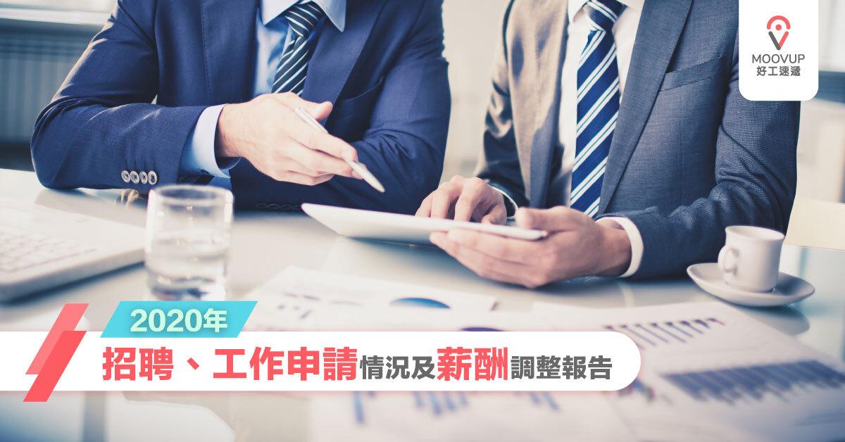 2020年招聘、工作申請情況及薪酬調整報告 | Moovup 好工速遞