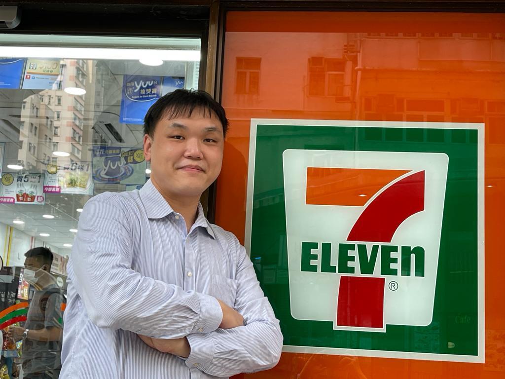 7-Eleven分區經理Ken